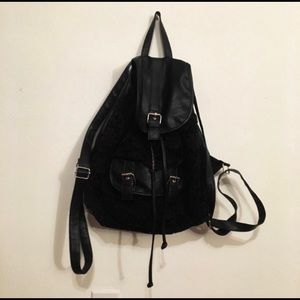 Claire's Black Backpack